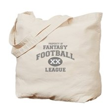 Fantasy Footbal League Tote Bag