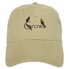 crow design Baseball Cap
