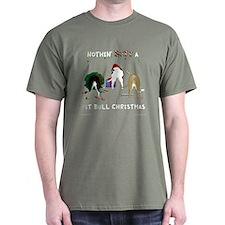 Nothin' Butt A PitBull Xmas T-Shirt