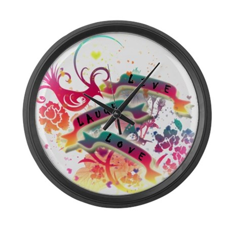 LLL V1 Large Wall Clock