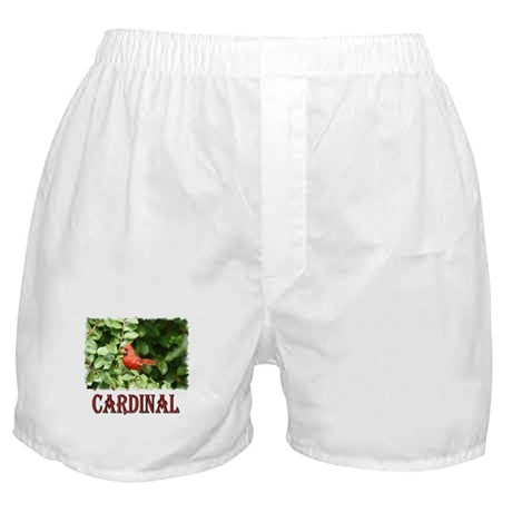 Northern Cardinal Boxer Shorts
