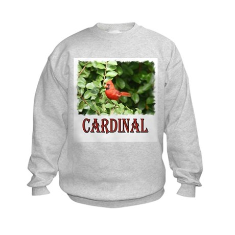 Northern Cardinal Kids Sweatshirt