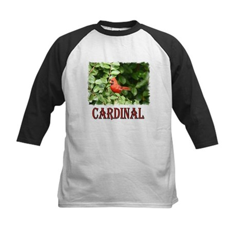 Northern Cardinal Kids Baseball Jersey