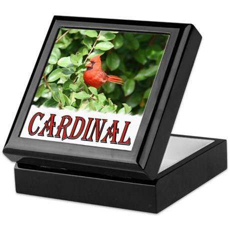 Northern Cardinal Keepsake Box