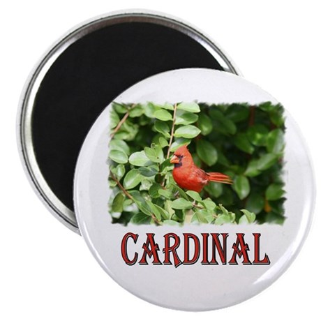 "Northern Cardinal 2.25"" Magnet (10 pack)"