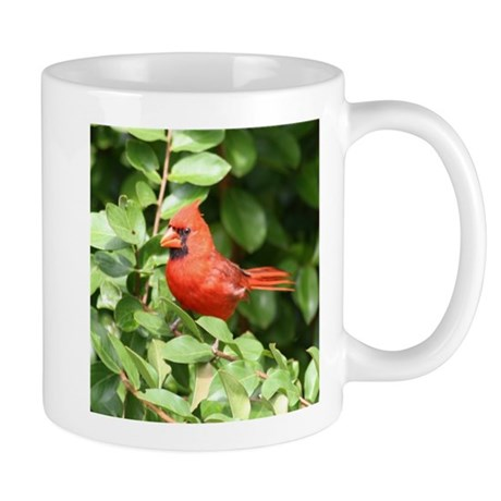 Beautiful Cardinal Red Bird Mug