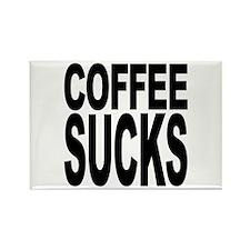 Coffee Sucks Rectangle Magnet