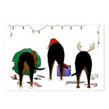 Swissie Christmas Postcards (Package of 8)