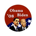 Obama - Biden '08 Extra Big Button