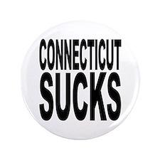 """Connecticut Sucks 3.5"""" Button (100 pack)"""