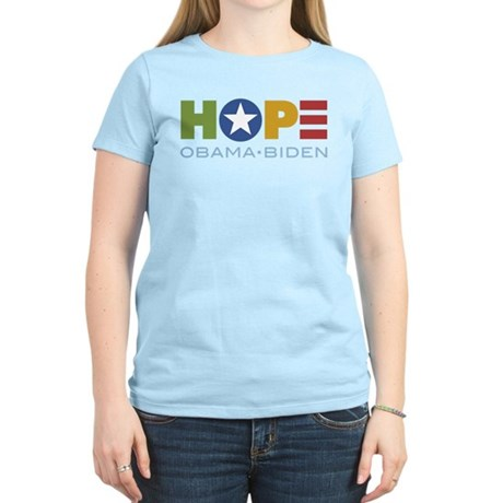HOPE Obama Biden Women's Light T-Shirt