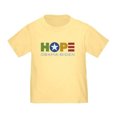 HOPE Obama Biden Toddler T-Shirt