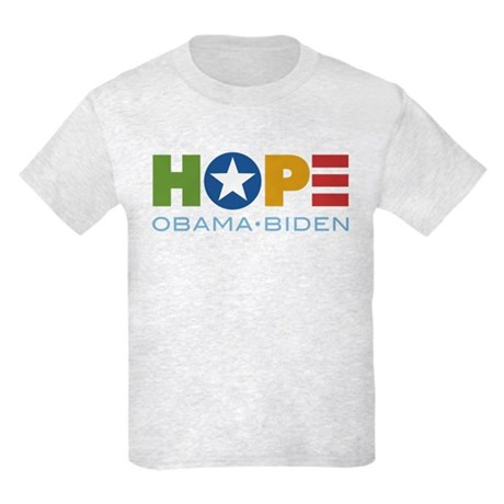 HOPE Obama Biden Kids Light T-Shirt