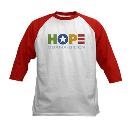 HOPE Obama Biden Kids Baseball Jersey