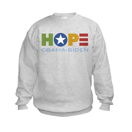 HOPE Obama Biden Kids Sweatshirt
