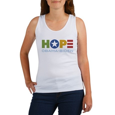 HOPE Obama Biden Women's Tank Top