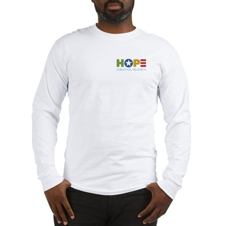 HOPE Obama Biden Long Sleeve T-Shirt