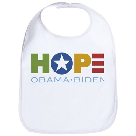 HOPE Obama Biden Bib