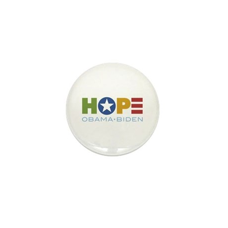 HOPE Obama Biden Mini Button