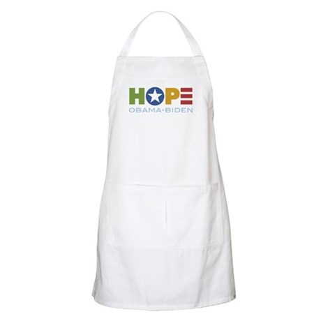 HOPE Obama Biden BBQ Apron