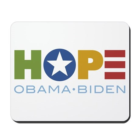 HOPE Obama Biden Mousepad