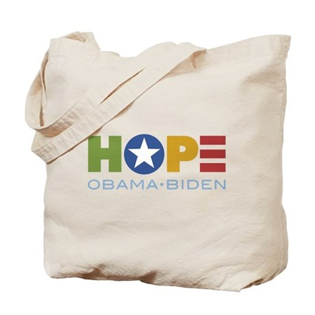 HOPE Obama Biden Tote Bag