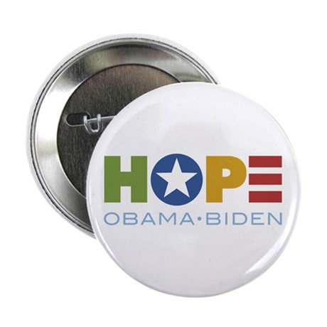 "HOPE Obama Biden 2.25"" Button (10 pack)"
