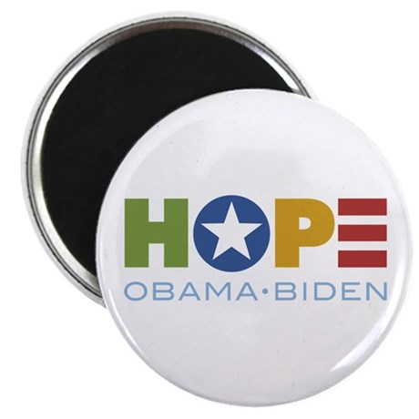 "HOPE Obama Biden 2.25"" Magnet (100 pack)"