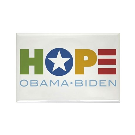 HOPE Obama Biden Rectangle Magnet (10 pack)