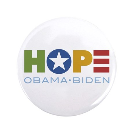 "HOPE Obama Biden 3.5"" Button (100 pack)"