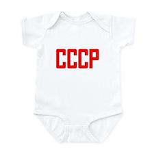 CCCP Soviet USSR Infant Bodysuit