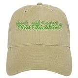 Deaf Education Baseball Cap