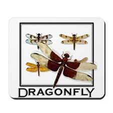 Unique Dragonfly Mousepad