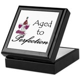 Aged to perfection Keepsake Box