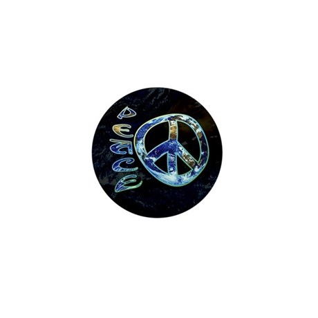 Earth Peace Mini Button (100 pack)