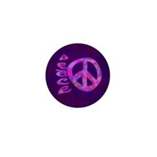 Pink Peace Mini Button (100 pack)