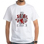 Caccini Family Crest White T-Shirt