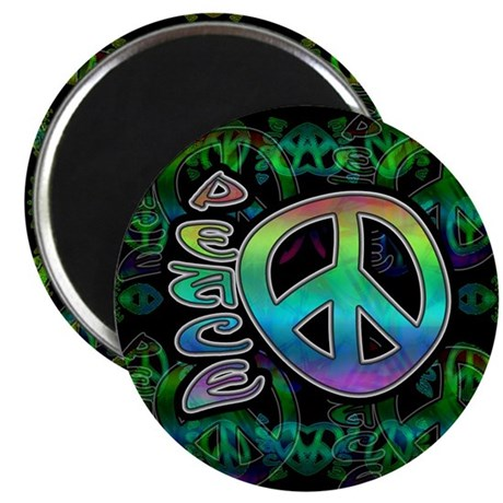 Rainbow Peace Magnet