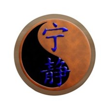 "Firefly Gold Serenity 3.5"" Button (100 pack)"