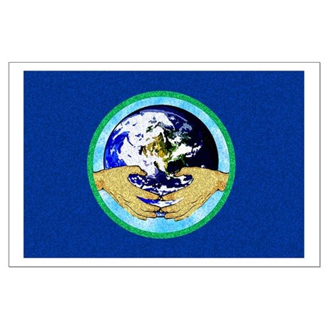 Precious Earth Large Poster
