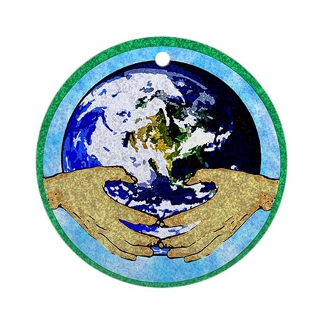 Precious Earth Ornament (Round)