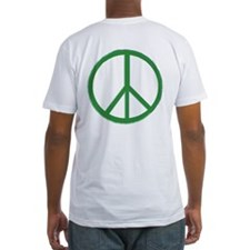 Green Peace Symbol OB Shirt