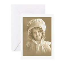 Bonnet Girl Greeting Cards (Pk of 20)