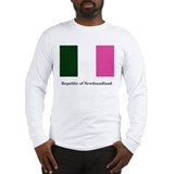 Long Sleeve T-Shirt - Republic of Newfoundland