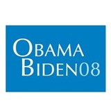 Obama Biden 08 Postcards (Package of 8)