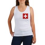 Swiss Cross/Peace Women's Tank Top