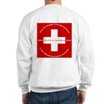 Swiss Cross/Peace Sweatshirt