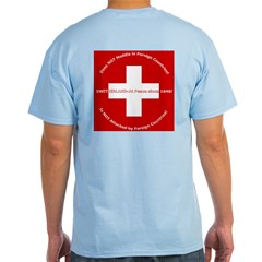 Swiss Cross/Peace Light T-Shirt