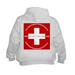 Swiss Cross/Peace Kids Hoodie