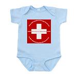 Swiss Cross/Peace Infant Bodysuit